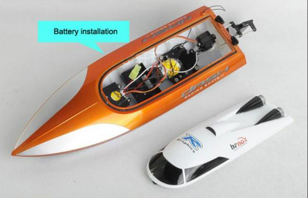 TRB004010 hot selling emulational high speed remote control speed boat