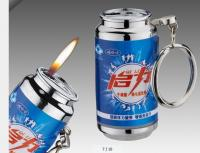 GL129082 beer cans shape lighter for promotional lighters