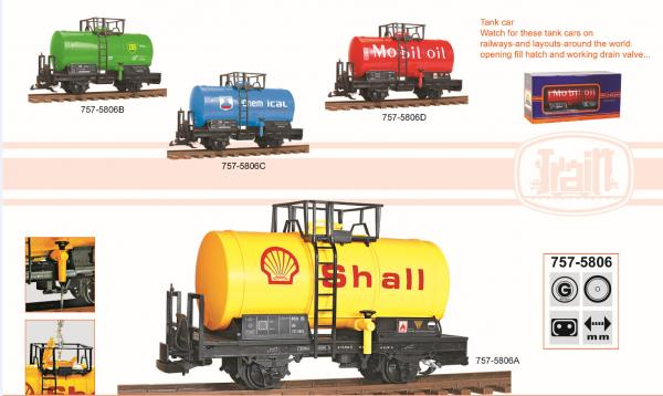 TRT005806 train oil tank