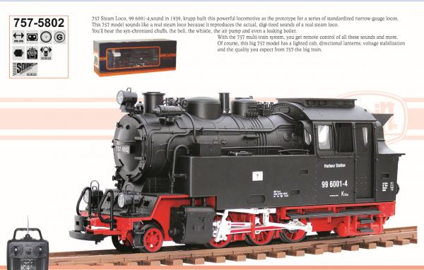 TRT005802 rc locomotive with battery